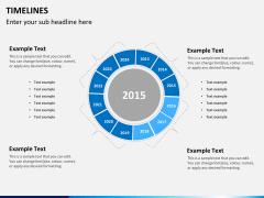 Timeline PPT slide 17