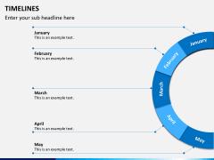 Timeline PPT slide 20