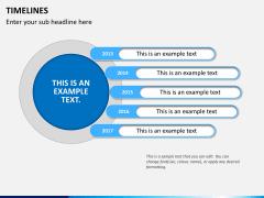 Timeline PPT slide 3