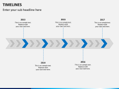 Timeline bundle PPT slide 5
