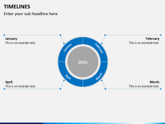 Timeline PPT slide 6