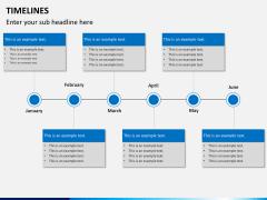 Timeline PPT slide 8