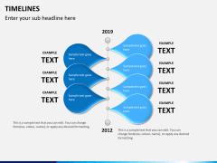 Timeline PPT slide 9