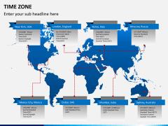Time zones PPT slide 2
