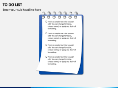To do list PPT slide 4