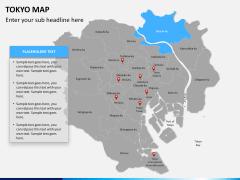 Tokyo map PPT slide 10