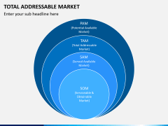 Total addressable market PPT slide 1