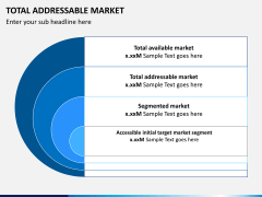Total addressable market PPT slide 2