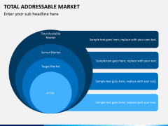 Total addressable market PPT slide 5