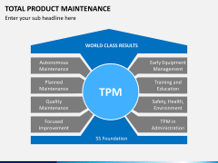 Total productive maintenance PPT slide 1