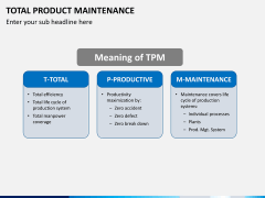 Total productive maintenance PPT slide 6