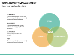 Total quality management PPT slide 18