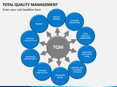 Total quality management PPT slide 7