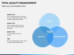 Total quality management ppt presentation