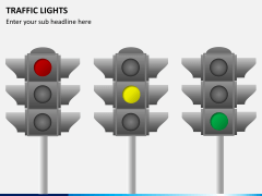 Traffic lights PPT slide 2