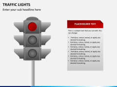 Traffic lights PPT slide 3