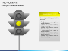 Traffic lights PPT slide 4