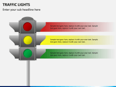 Traffic lights PPT slide 6