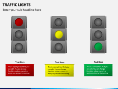 Traffic lights PPT slide 7
