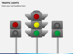 Traffic lights PPT slide 8