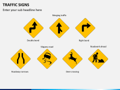 Traffic signs PPT slide 1