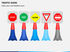 Traffic signs PPT slide 3