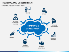 Training and development PPT slide 1