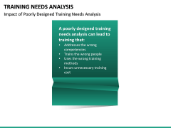 Training needs analysis PPT slide 28