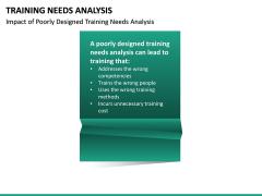 Training needs analysis PPT slide 28