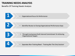 Training needs analysis PPT slide 19