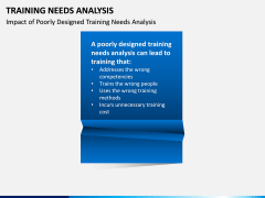 Training needs analysis PPT slide 9