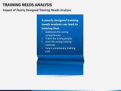 Training needs analysis PPT slide 9