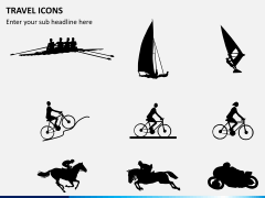 Travel icons PPT slide 4