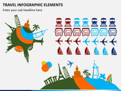 Travel infographic PPT slide 2