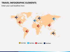 Travel infographic PPT slide 4