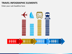 Travel infographic PPT slide 5
