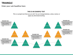 Triangle shape PPT slide 20