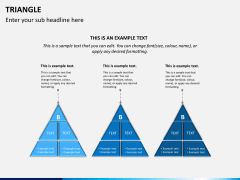 Triangle shape PPT slide 5
