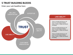 5 Trust building blocks PPT slide 13