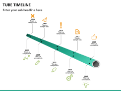 Tube timeline PPT slide 8