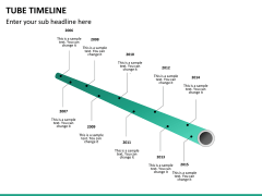 Tube timeline PPT slide 10