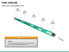 Tube timeline PPT slide 13