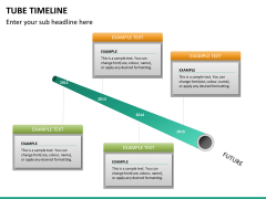 Tube timeline PPT slide 14