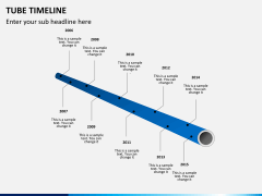 Tube timeline PPT slide 3