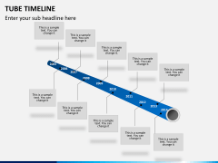 Tube timeline PPT slide 5