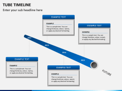 Tube timeline PPT slide 7