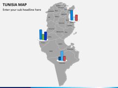 Tunisia map PPT slide 12