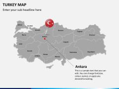 Turkey map PPT slide 15