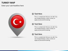 Turkey map PPT slide 17