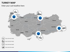 Turkey map PPT slide 6
